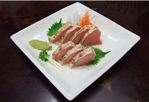 勝栄丸漁獲限定びんちょう鮪炙り